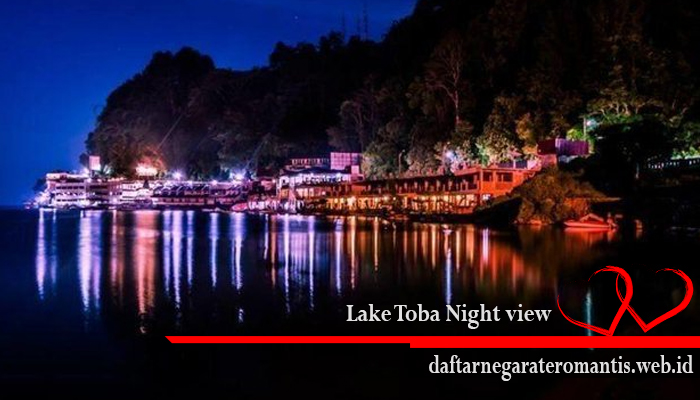 Lake Toba Night view