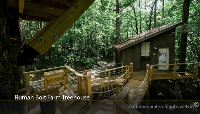 Rumah Bolt Farm Treehouse